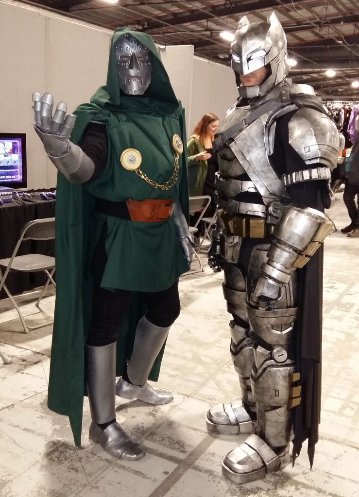 Cosplayers at Film & Comic Con Manchester 2016