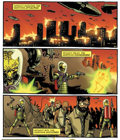 Mars Attacks Occupation #3 art