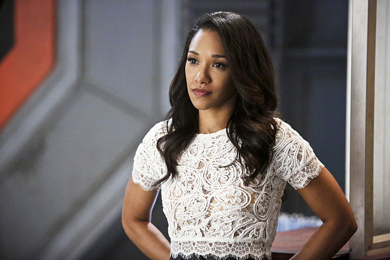 Pictured: Candice Patton as Iris West