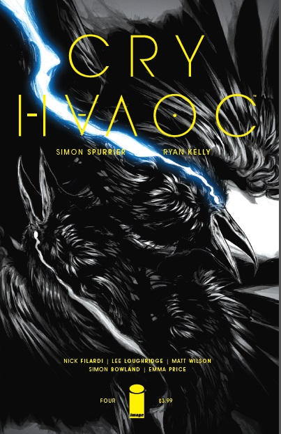 Cry Havoc #4 cover