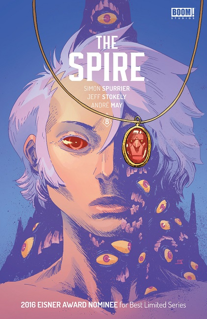 The Spire #8 cover art
