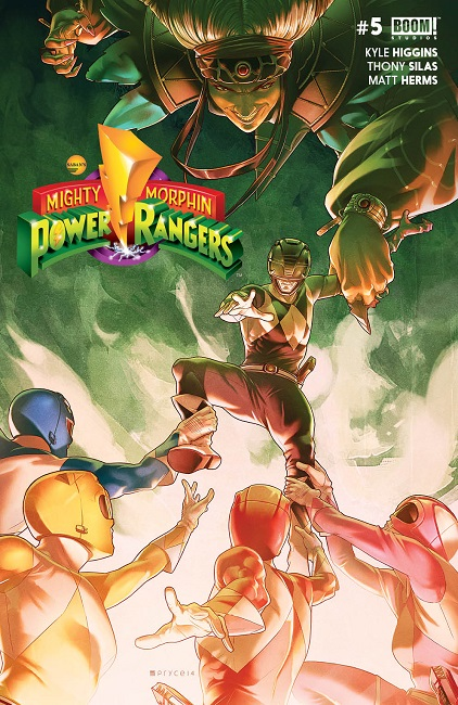 Mighty Morphin Power Rangers #5 cover