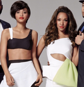 Kiersey Clemons and Candice Patton photographed for Essence Magazine