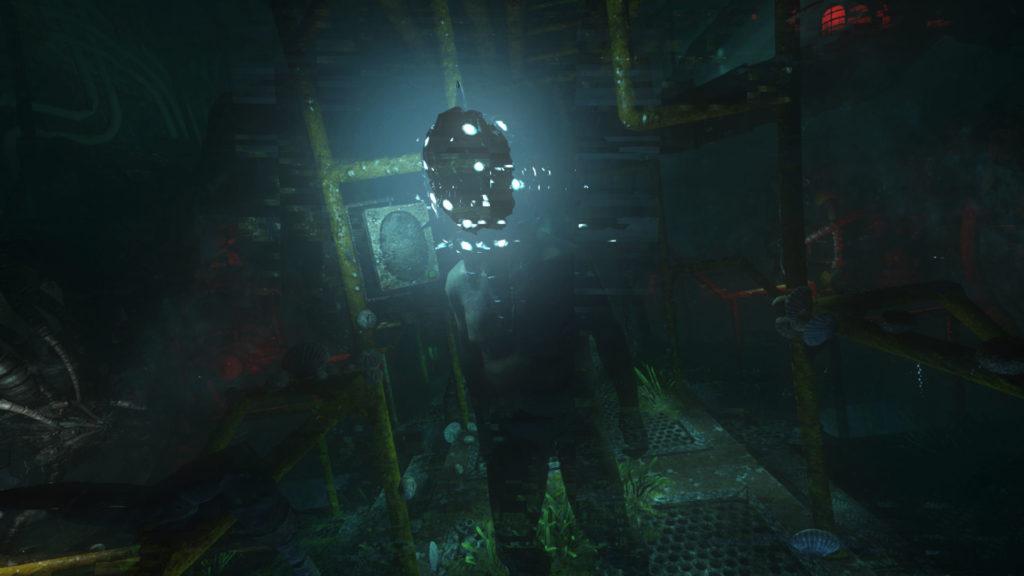 One of Soma's monsters. Mate, I think you have something on your face? Credit: Soma by Frictional Games.