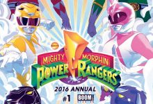 Review: Power Rangers 2016 Annual