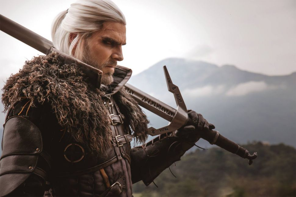 Some cosplayers have done some seriously impressive work with characters from the Witcher series. Bet I can beat this guy at Gwent though.