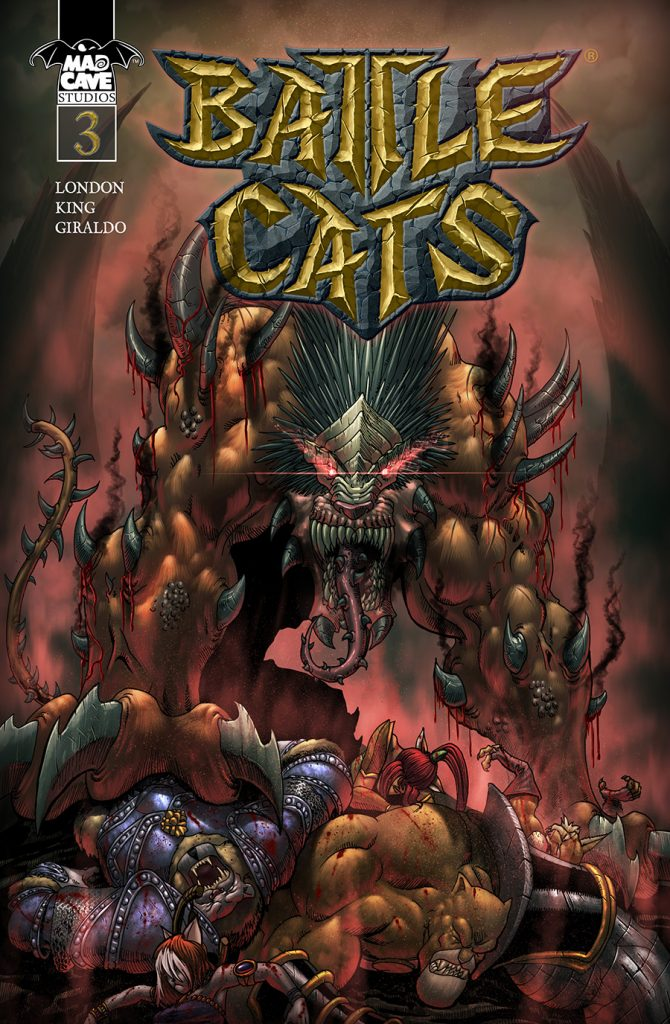 Battlecats By Mad Cave Studios