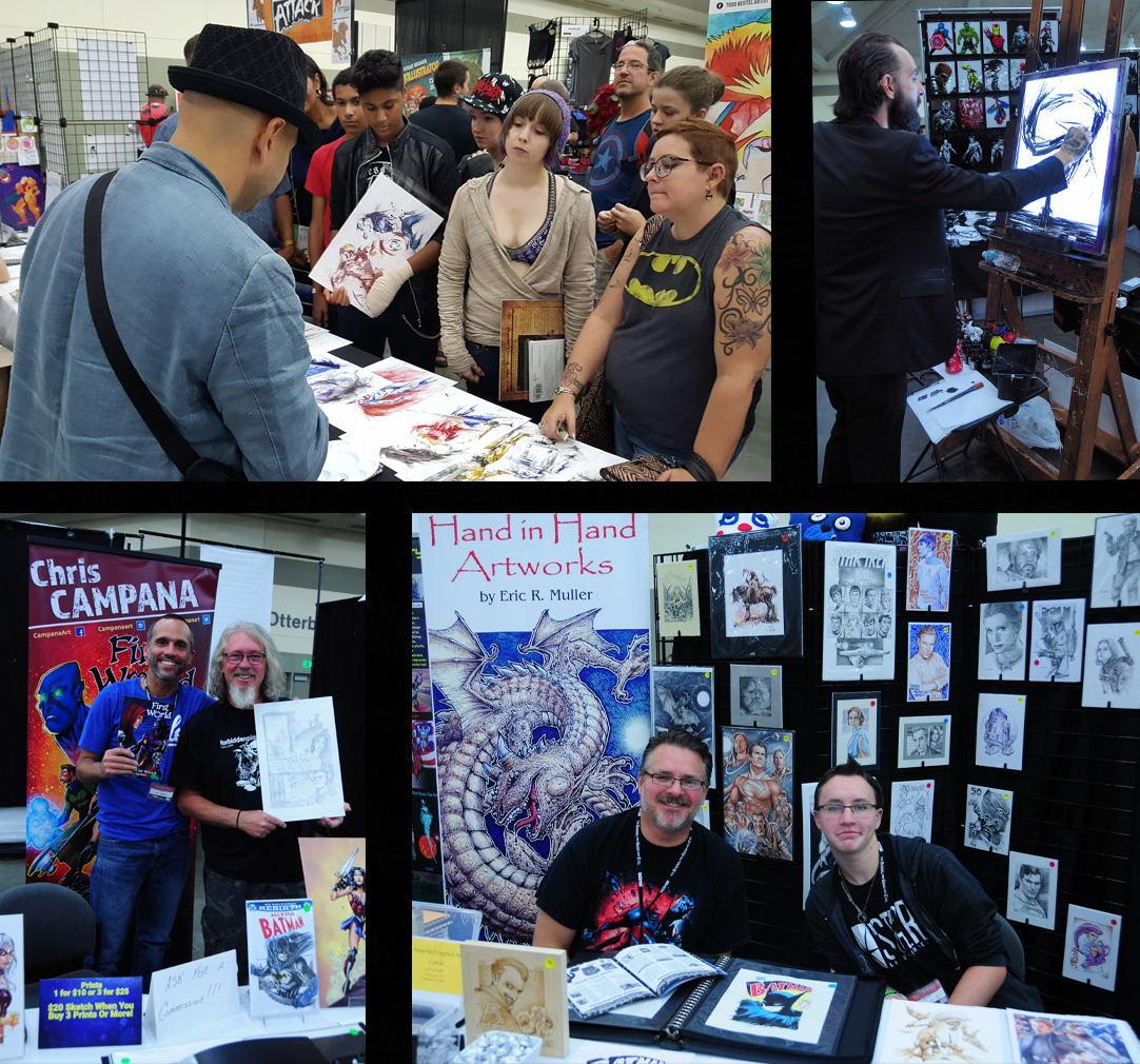 Baltimore Comic Con BCC Artist Alley