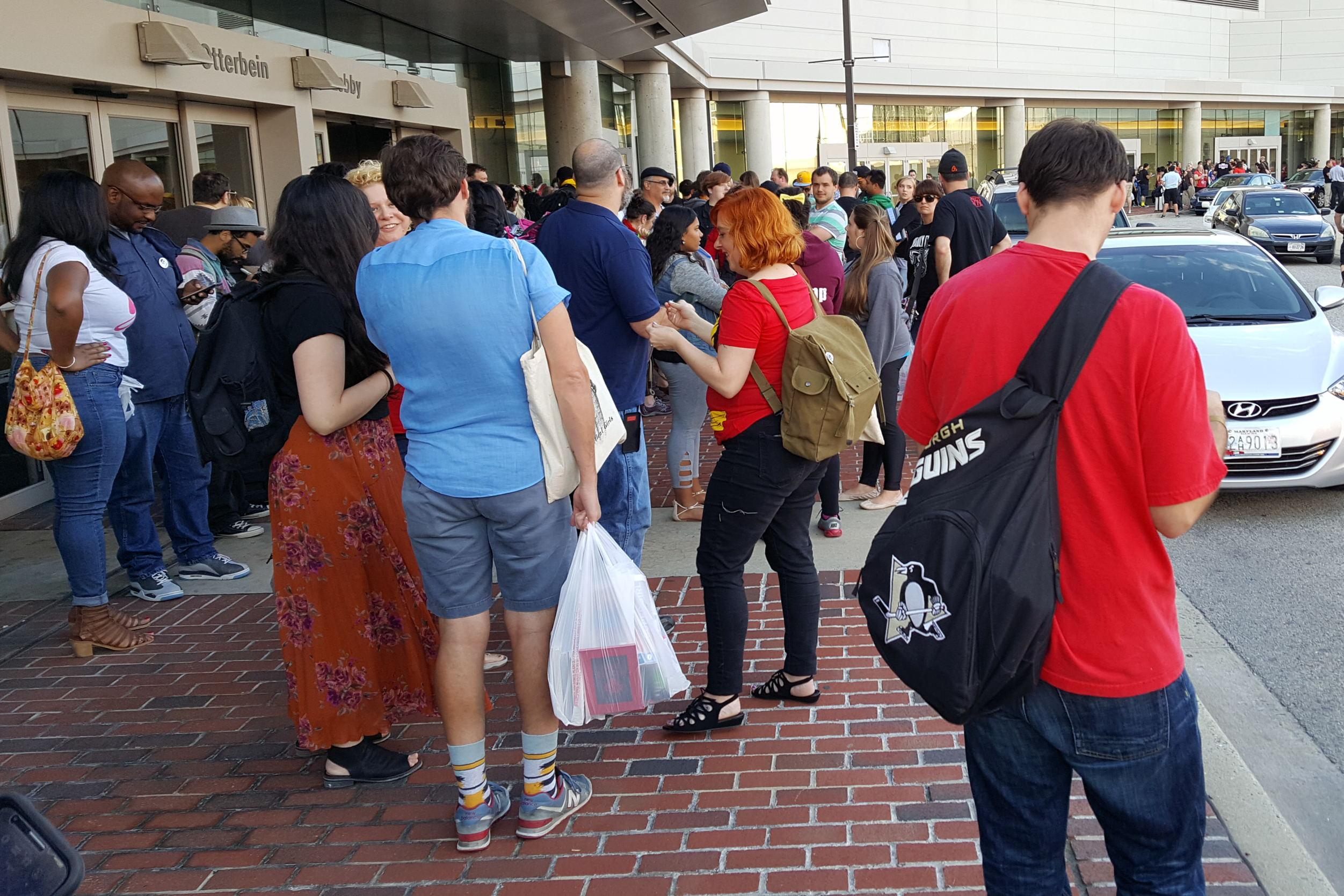 Baltimore Comic Con BCC Evacuation