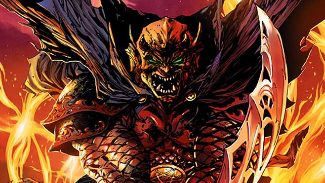 Justice League Dark Etrigan The Demon