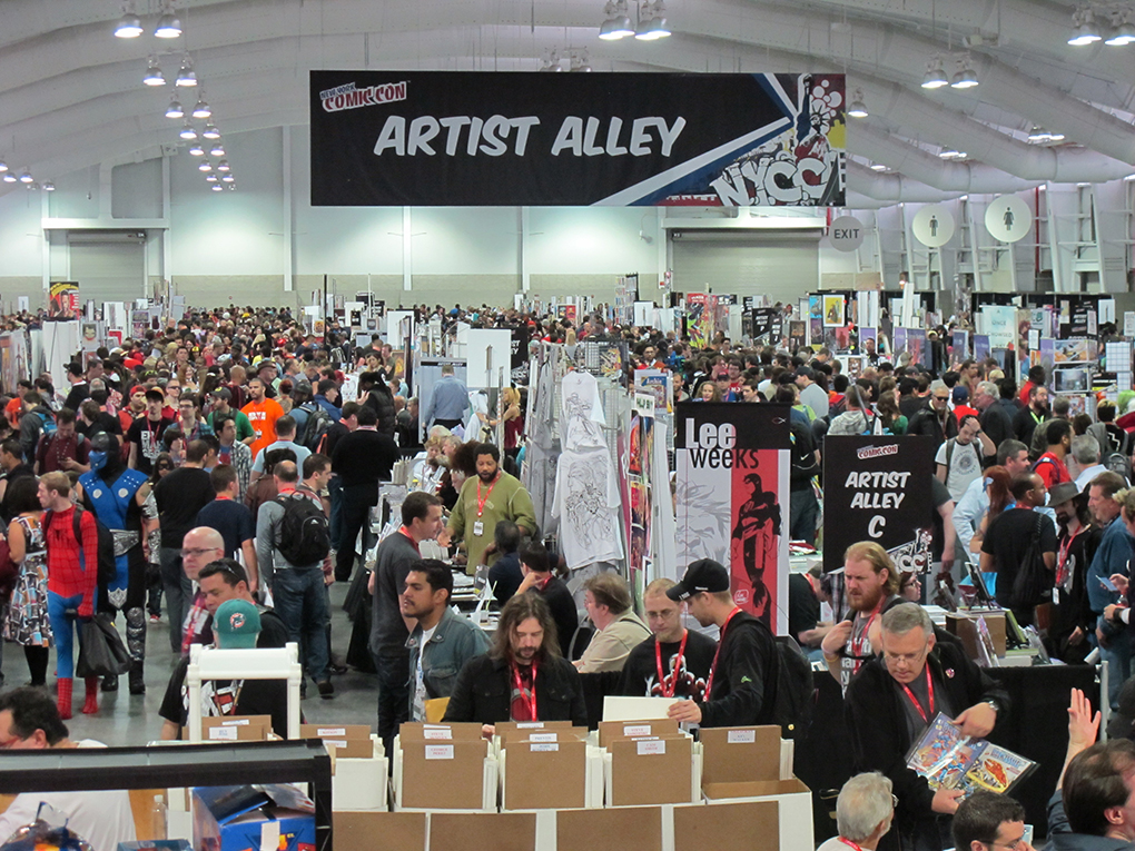 New York Comic Con NYCC Artist Alley
