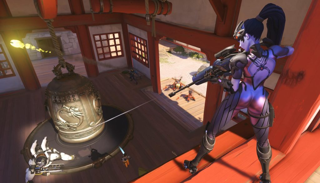 Overwatch Widowmaker on Hamanura