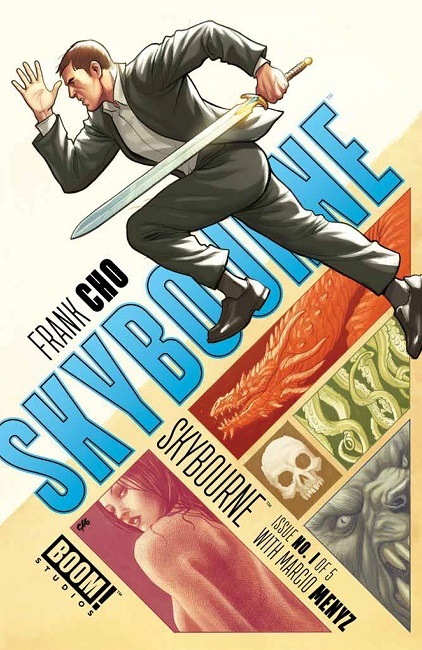 Skybourne #1 cover