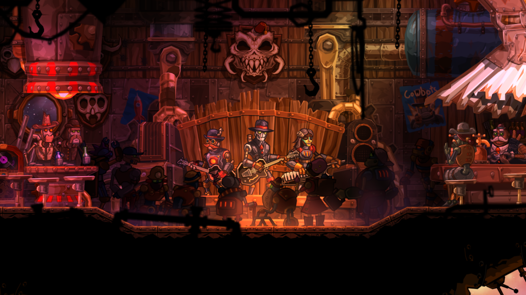 Steamworld Heist bar