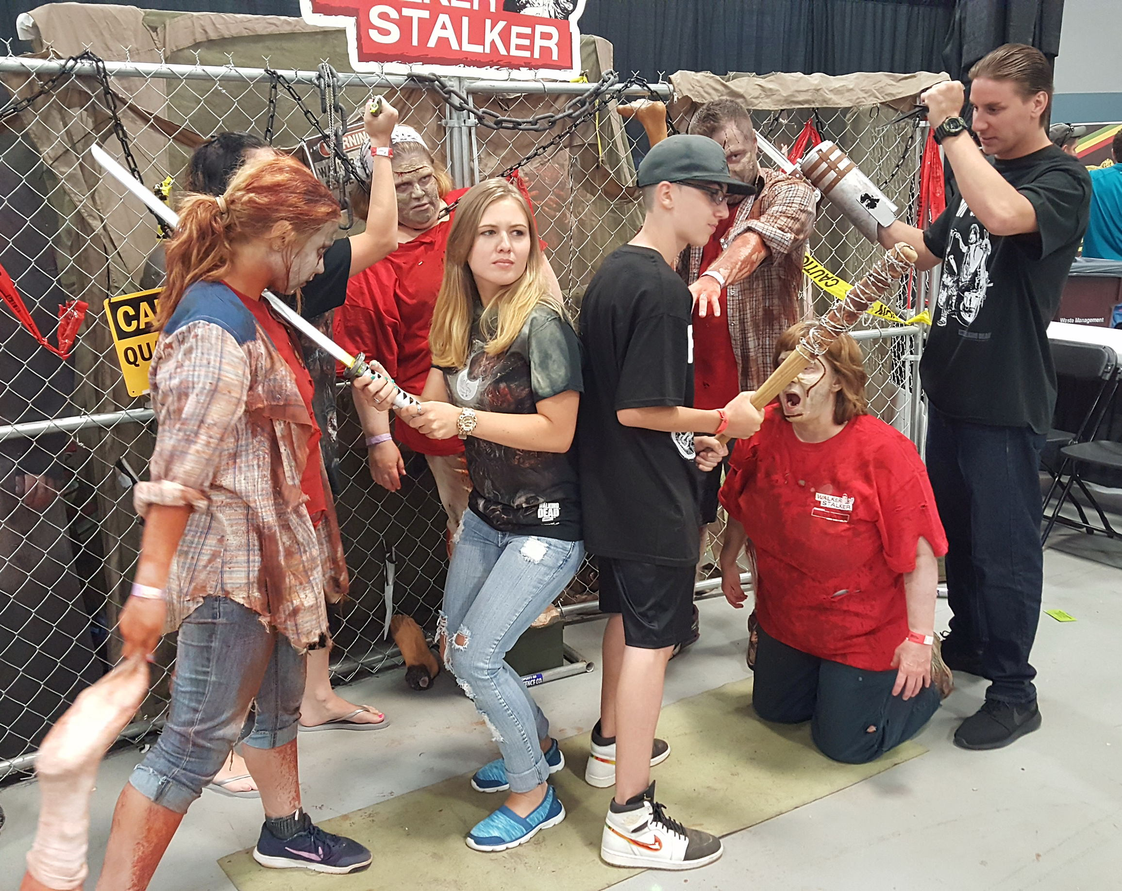 Walker Stalker Con WSC The Walking Dead Zombies
