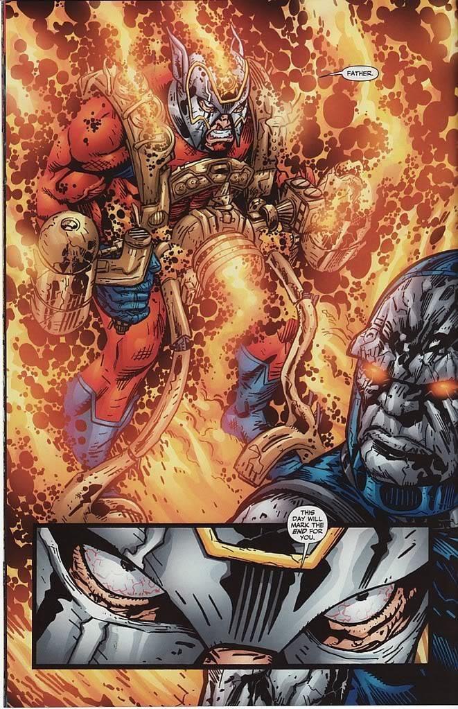 Orion Darkseid DC Comics