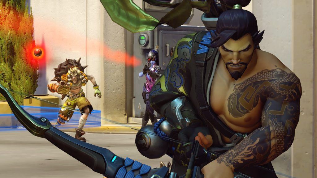 Overwatch Hanzo Junkrat and Widowmaker