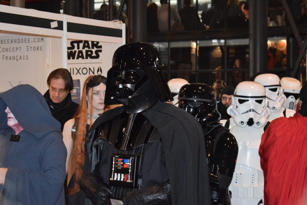 Star Wars parade at Paris Comic Con. Credit : Elodie Cure