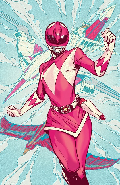 MMPR Pink #4 variant cover