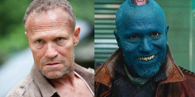 Michael Rooker The Walking Dead Merle Dixon Guardians of the Galaxy Yondu Udonta
