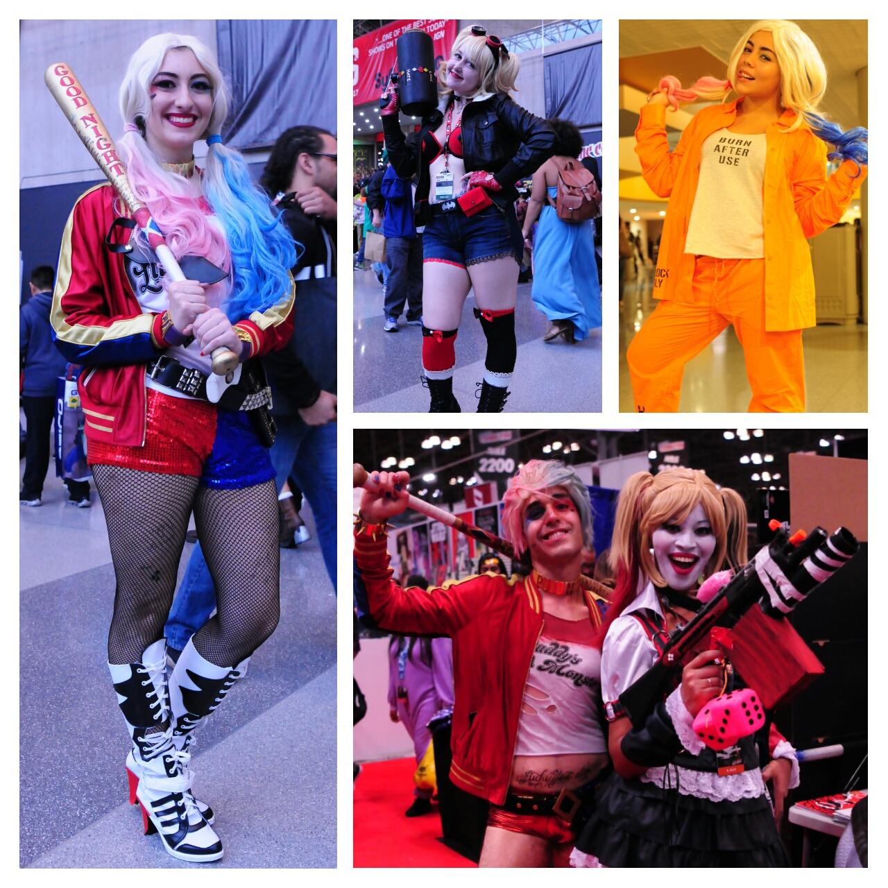 NYCC New York Comic Con Harley Quinn Suicide Squad
