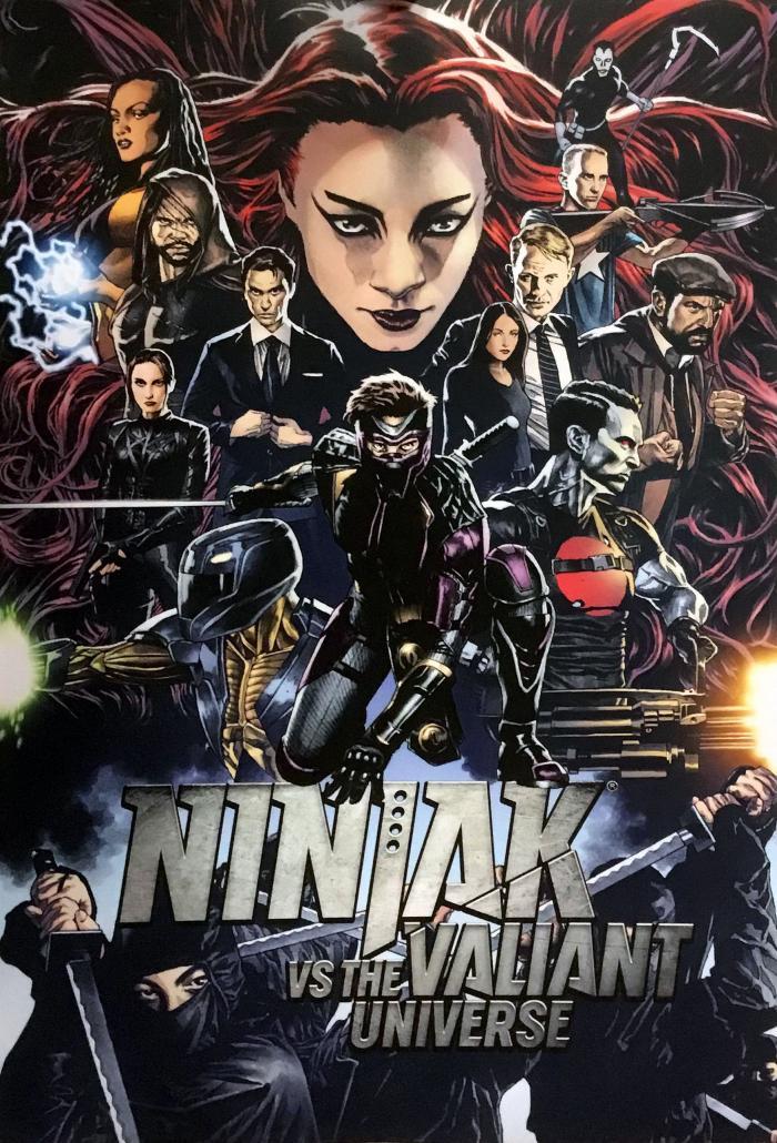 Ninjak vs the Valiant Universe Poster