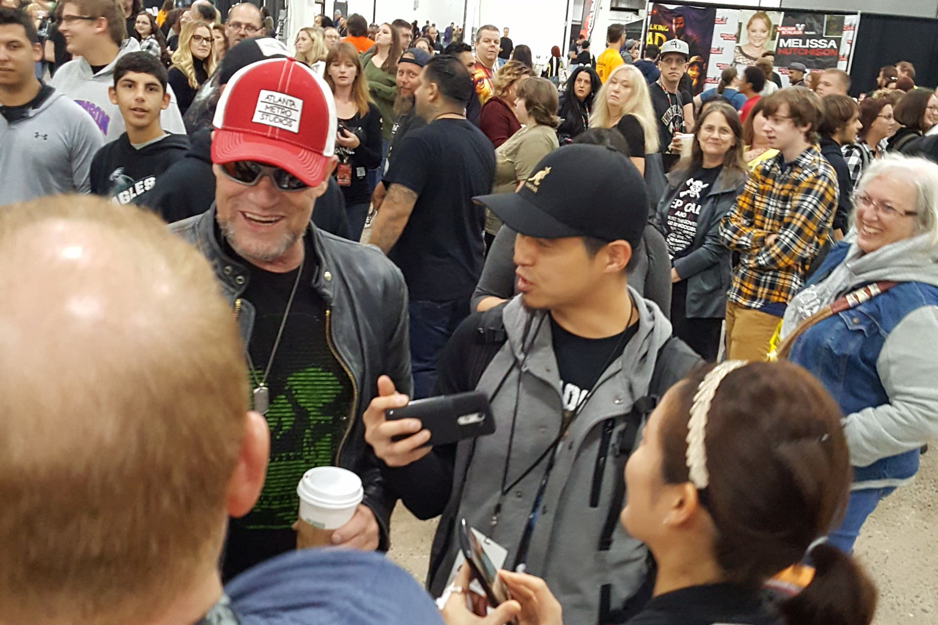 Michael Rooker Walker Stalker Con The Walking Dead Merle Dixon Guardians of the Galaxy Yondu Udonta Fans