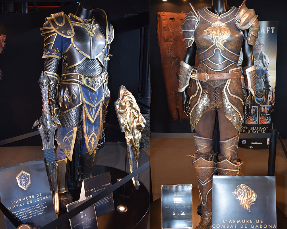 Original Warcraft outfits. Credit : Elodie Cure