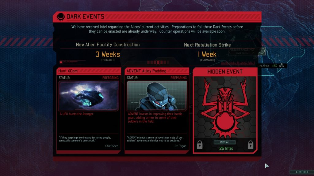 XCOM 2 Dark Events