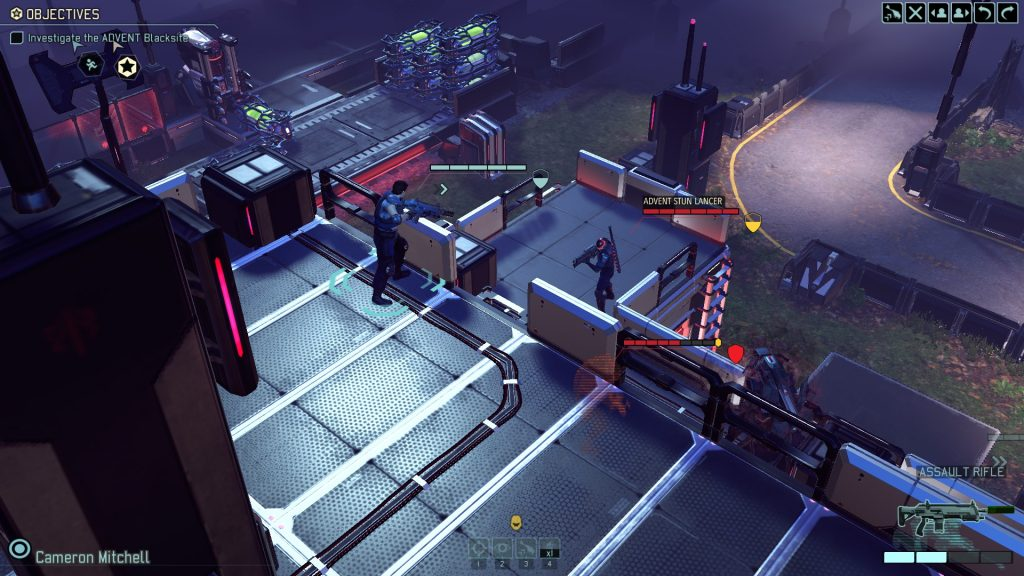 XCOM 2 Outflanking the enemy