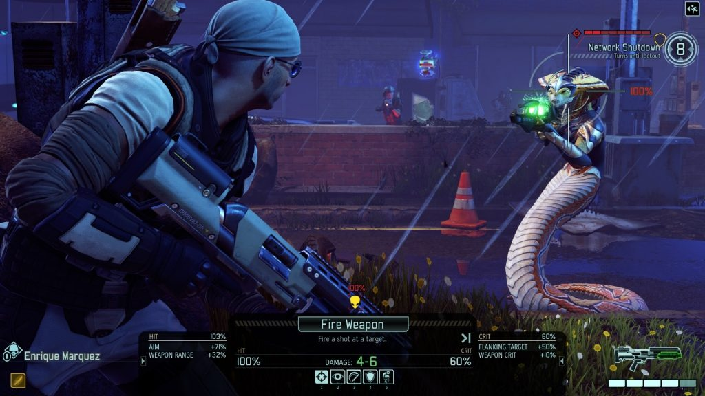 XCOM 2 targeting enemy