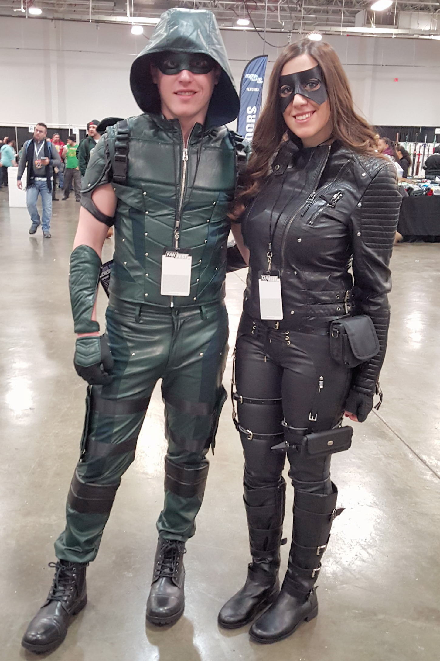 Heroes and Villains Fan Fest HVFF Arrow Cosplay