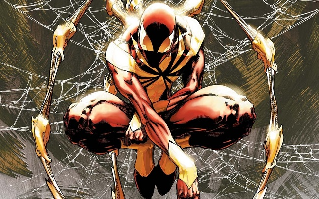 Iron Spider art detail