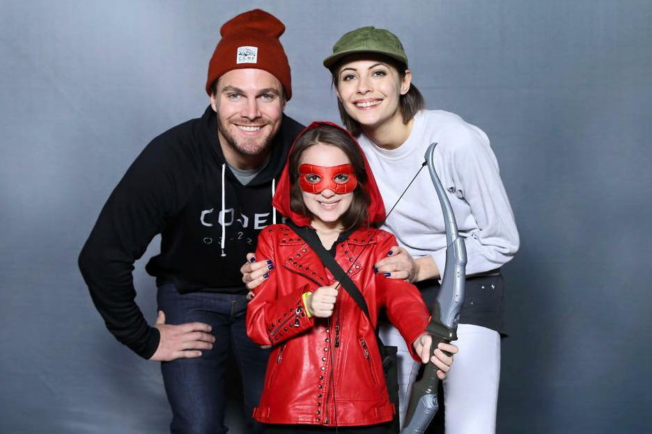 Heroes & Villains Fan Fest HVFF Arrow Speedy Stephen Amell Willa Holland