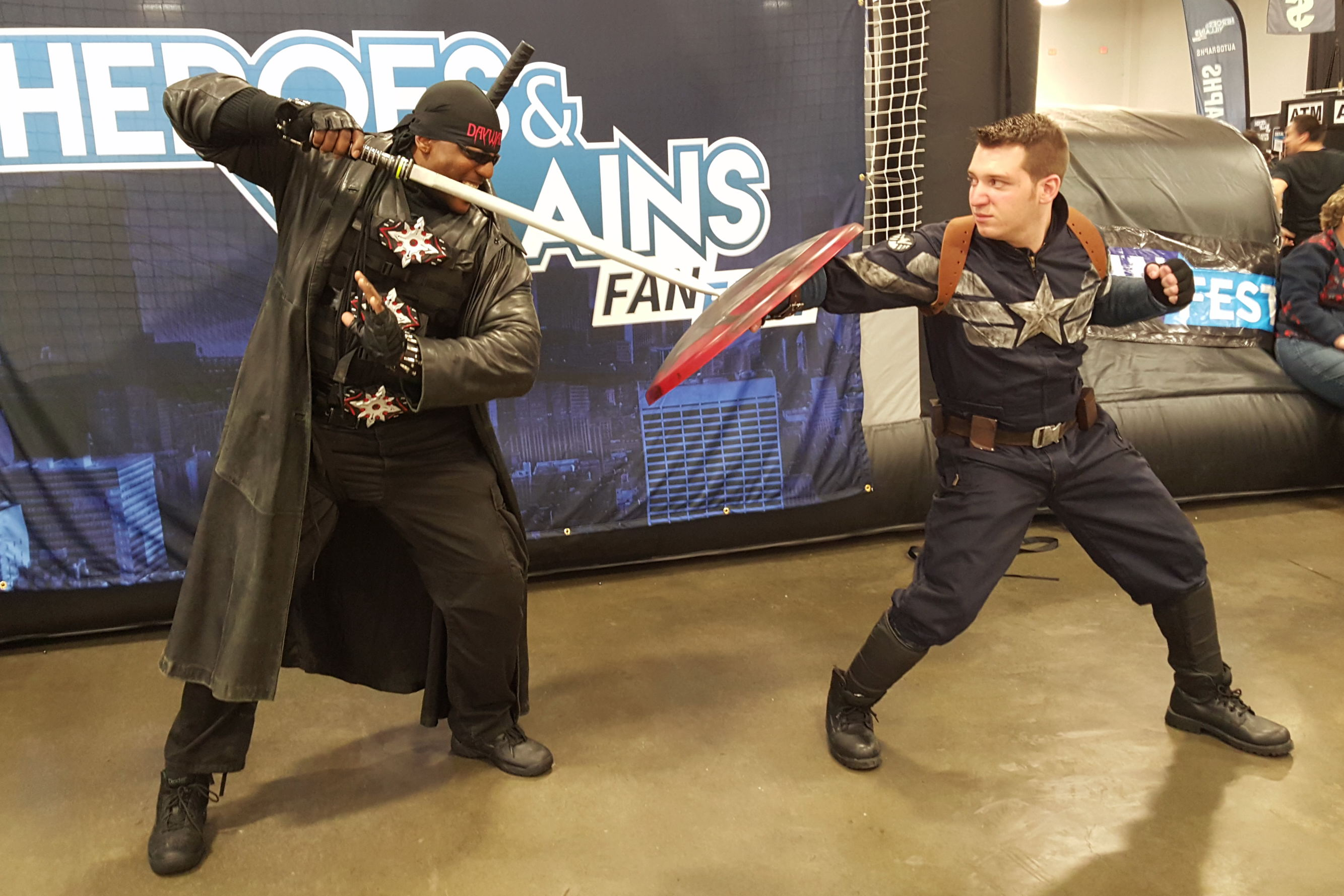 Heroes & Villains Fan Fest HVFF Cosplay