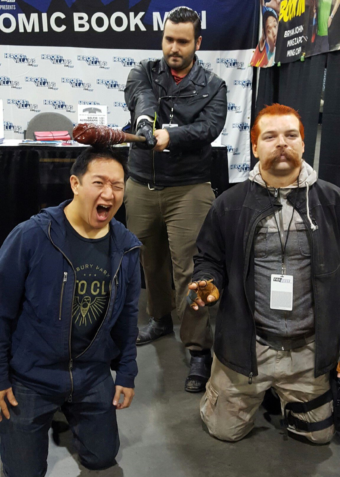 Ming Chen Comic Book Men Heroes and Villains Fan Fest HVFF Cosplay