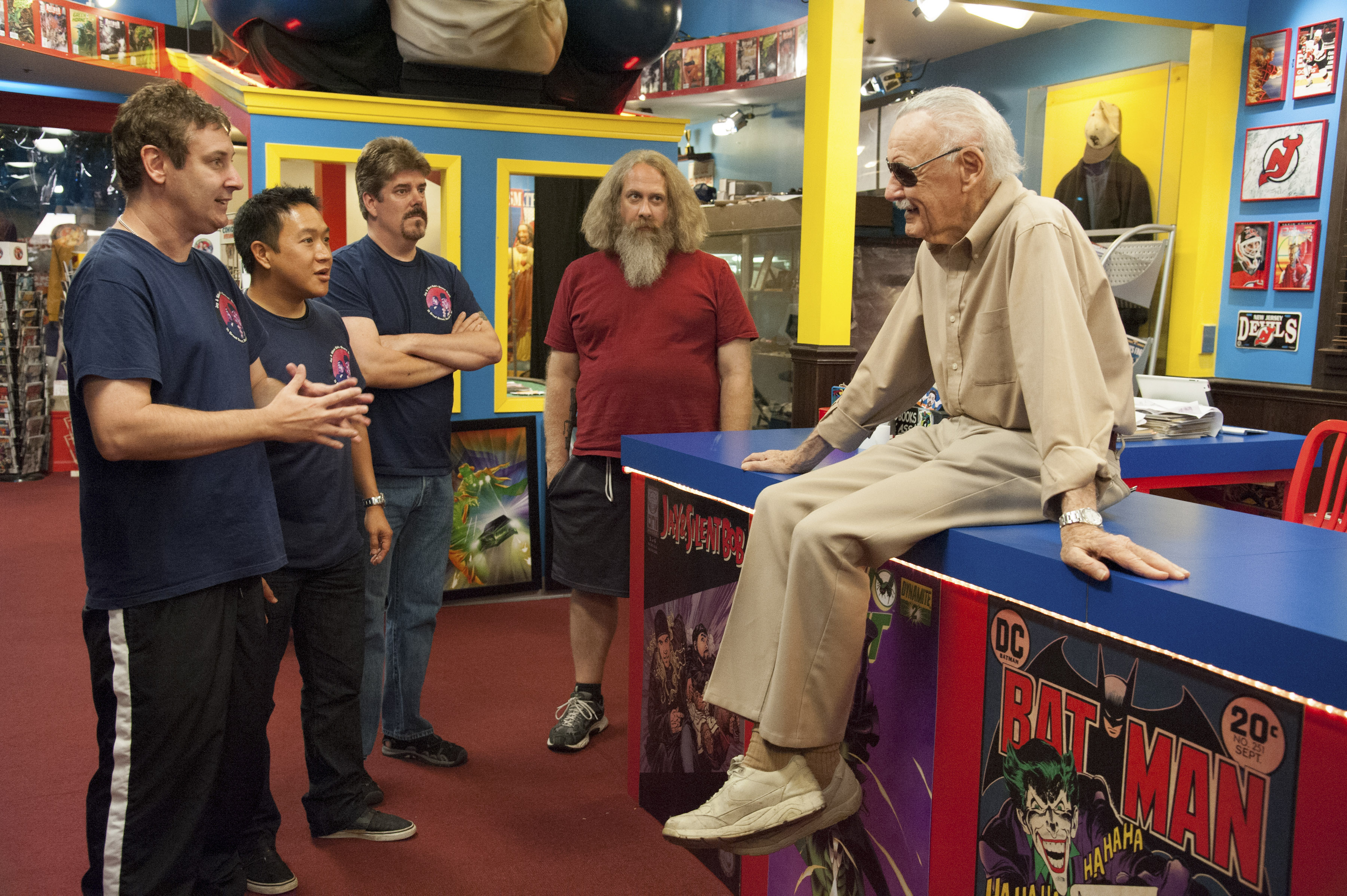 Ming Chen Comic Book Men Stan Lee