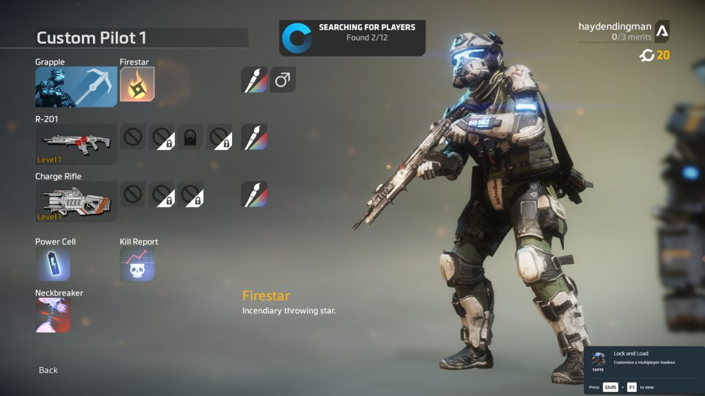 Titanfall 2 multiplayer loadouts