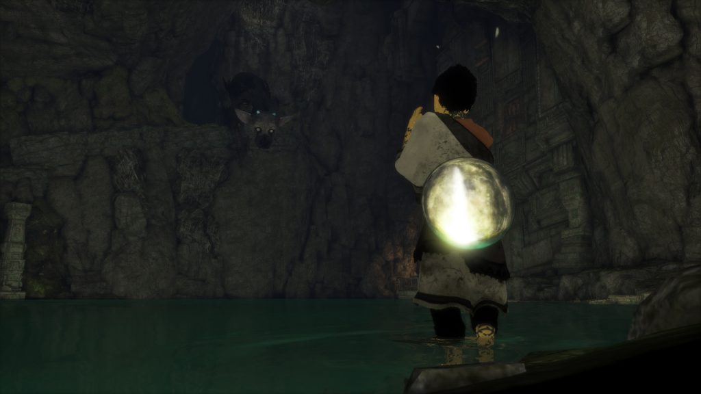 The Last Guardian lake
