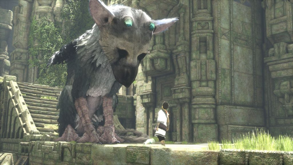The Last Guardian Trico looks at boy