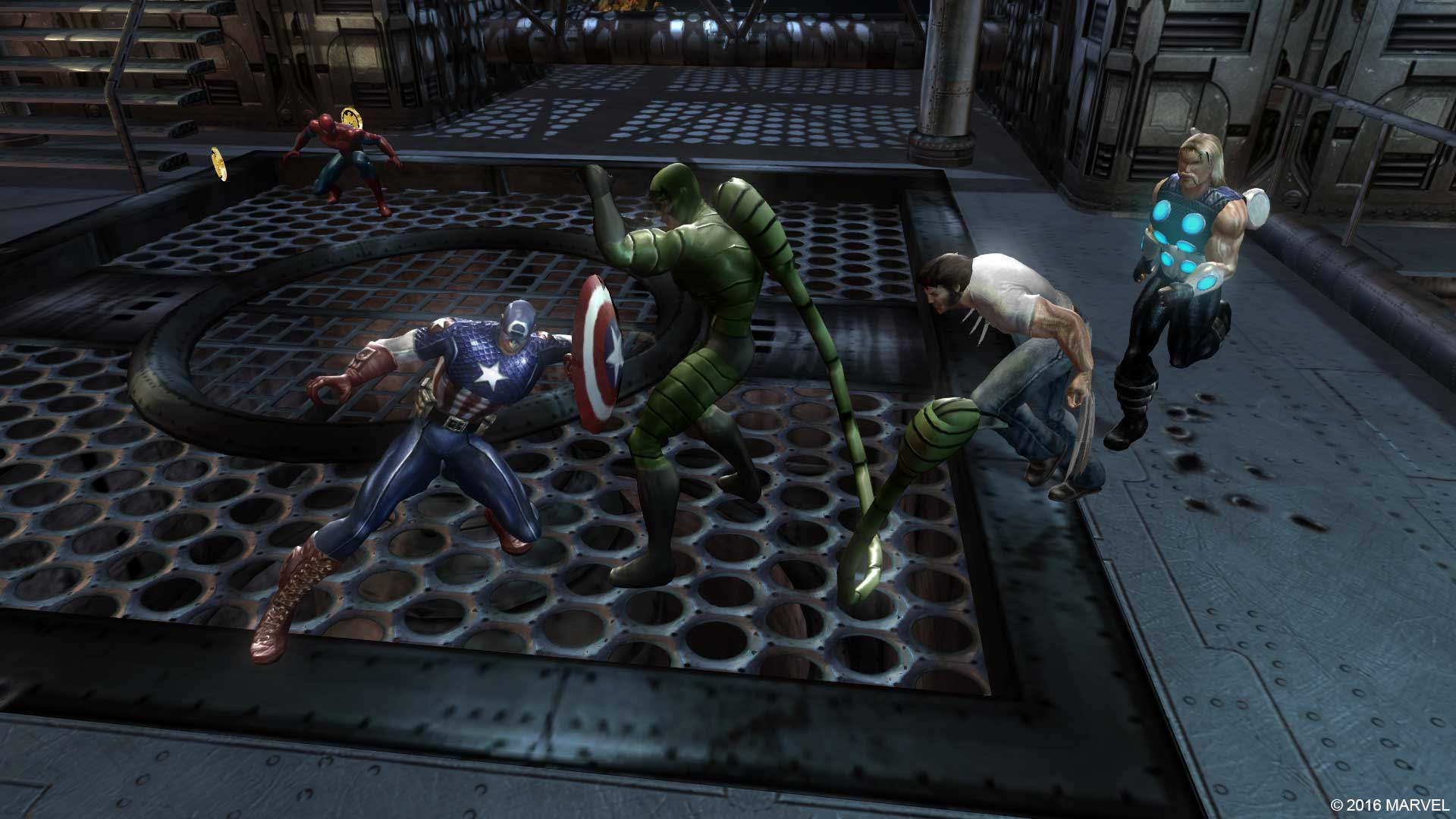 Game Review Marvel Ultimate Alliance Comiconverse
