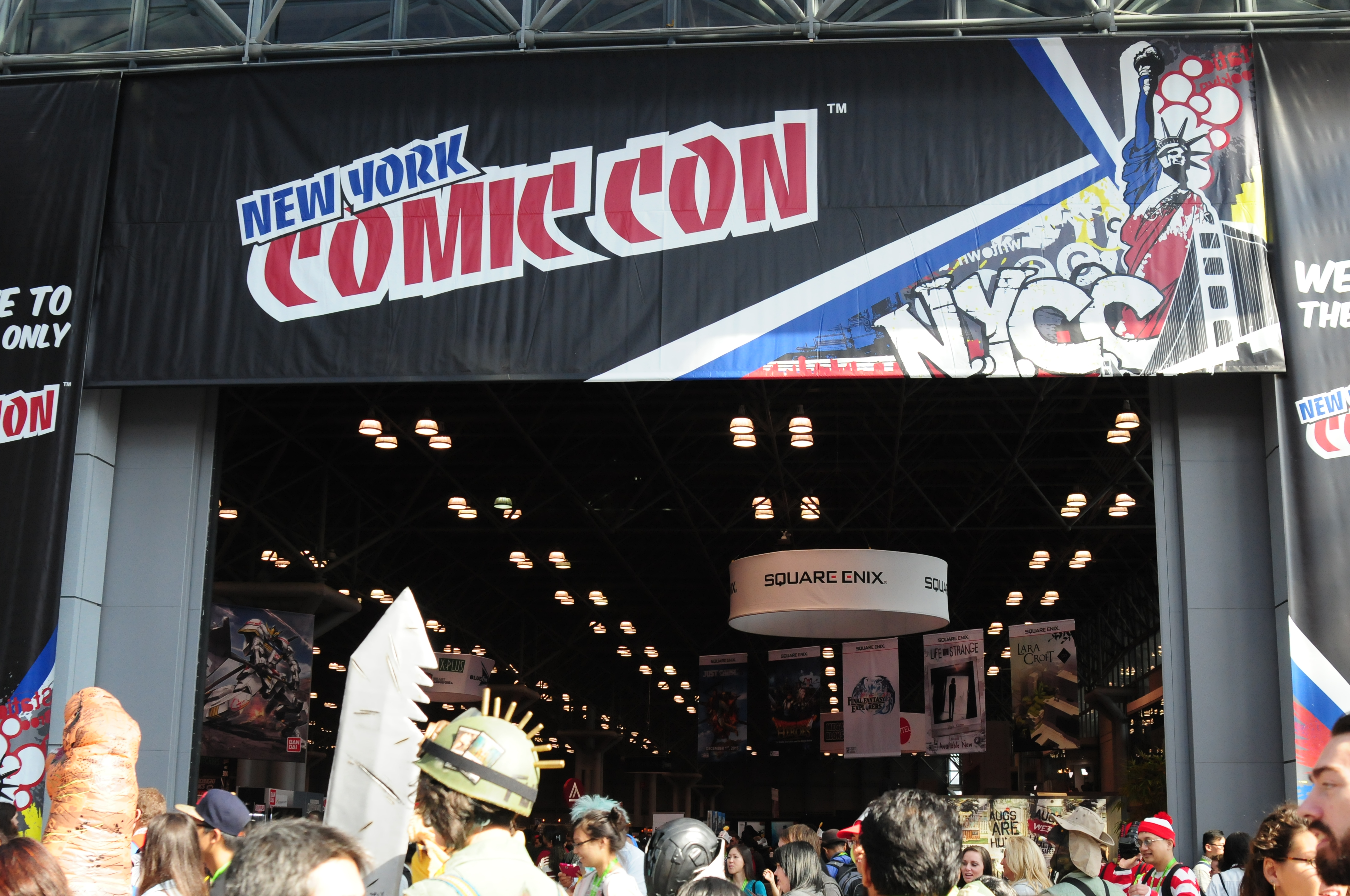 New York Comic Con Pop Culture