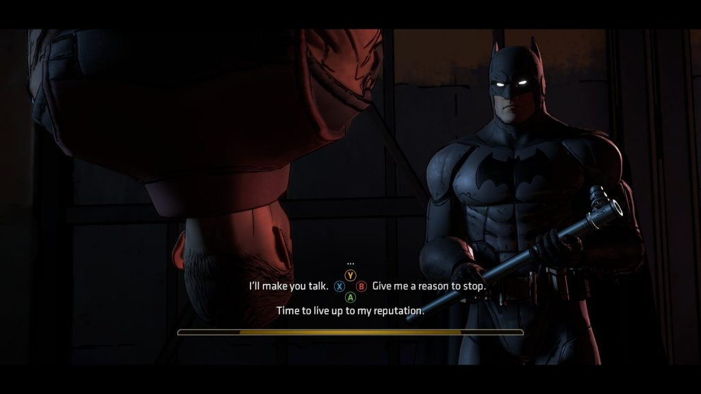 Batman Telltale Dark Choices