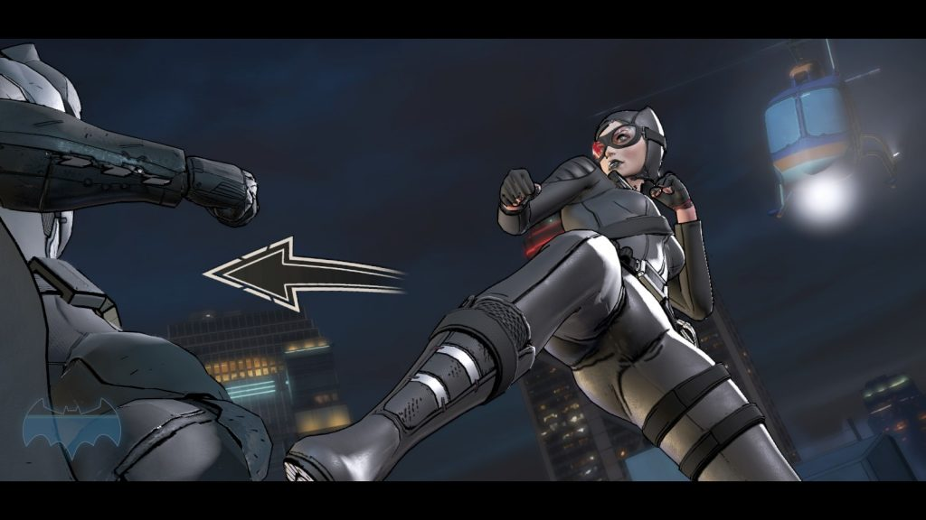 Batman Telltale Fighting Catwoman