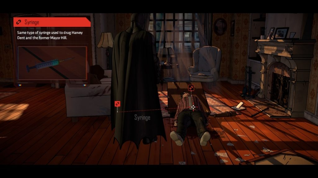 Batman Telltale Crime Scene House