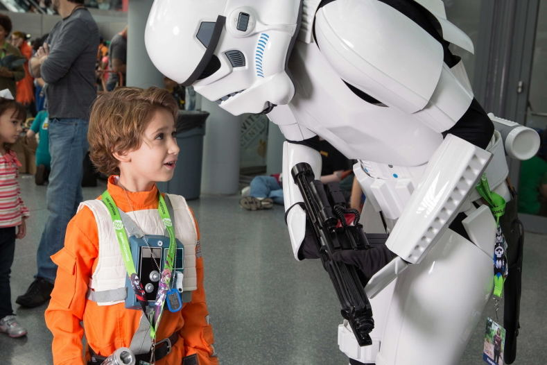 Big Apple Con New York City Comic Con Cosplay Star Wars Storm Trooper