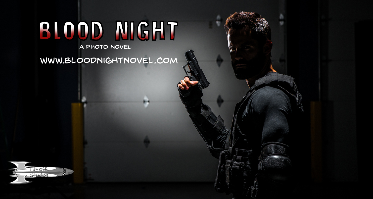Blood Night Cover Lift-Off Studios David Jaffe