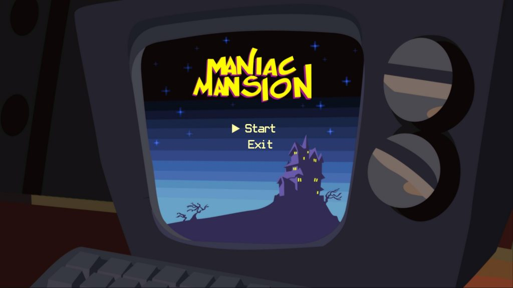 Day of the Tentacle Remastered Maniac Mansion computer