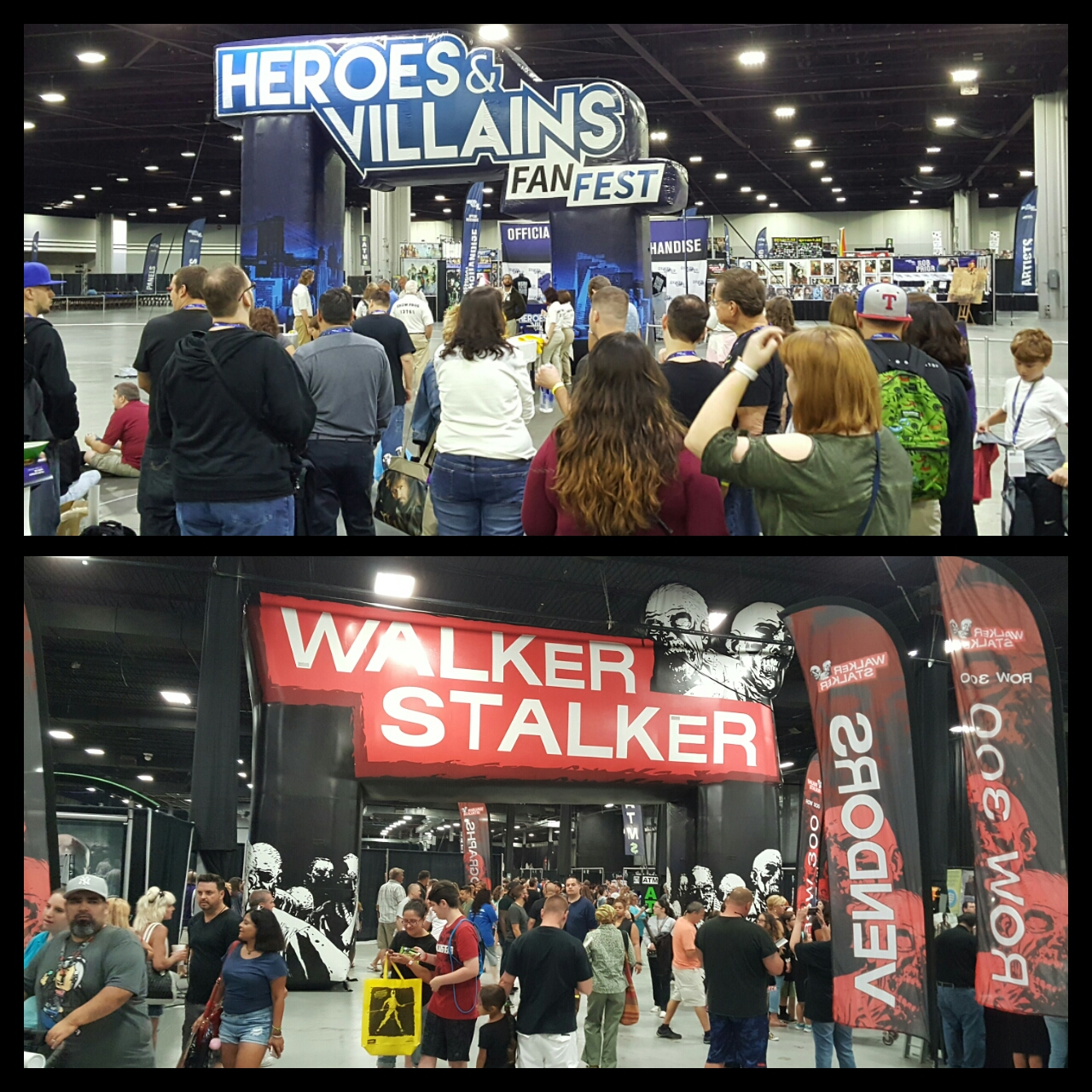 Heroes and Villains Fan Fest and Walker Stalker Con