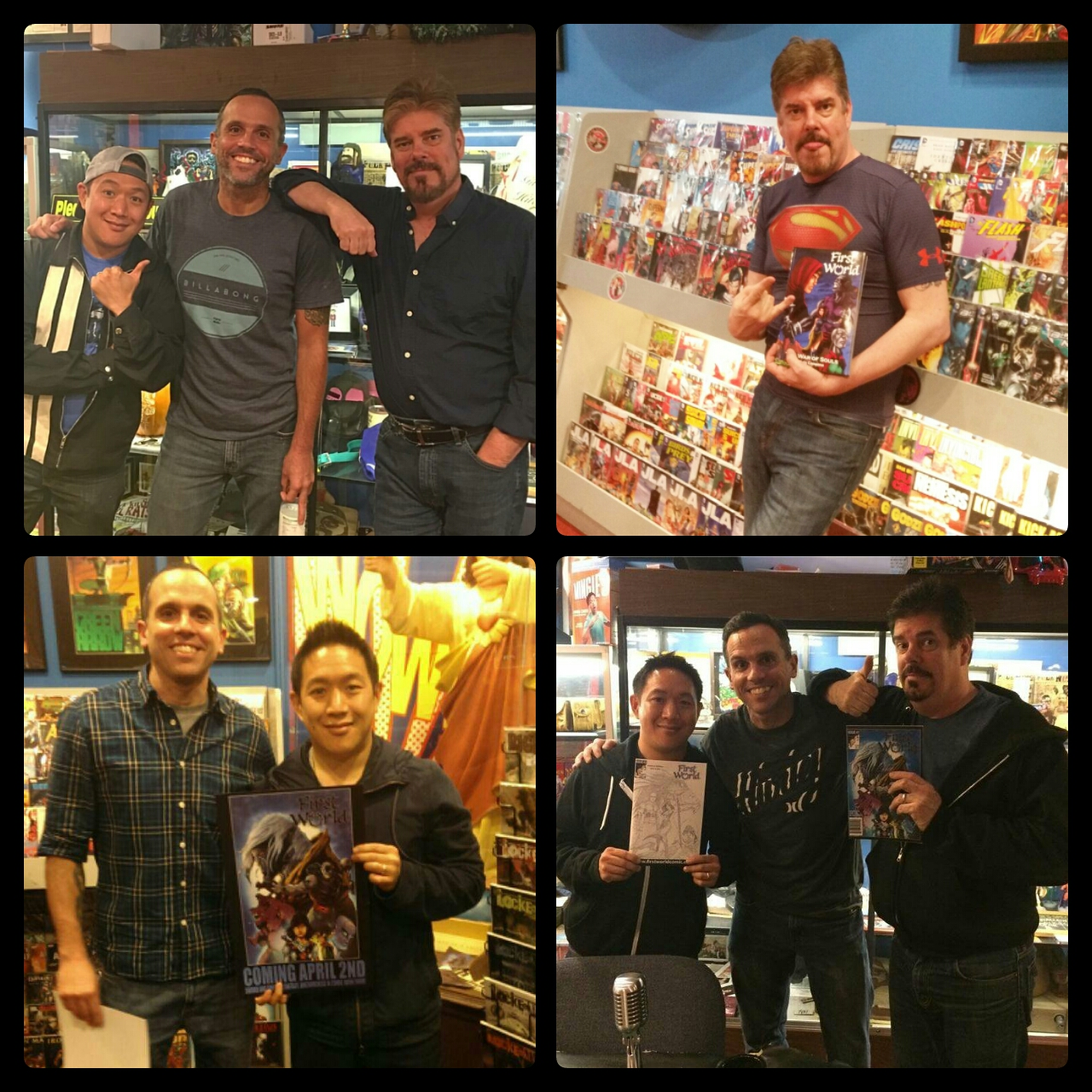 Chris Campana, Ming Chen, Mike Zapcic, Comic Book Men